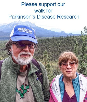 Please Support Our Walk For Parkinson
